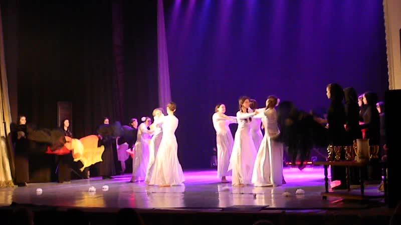 театр танца Мистерия дети хореогр номер Ангелы войны