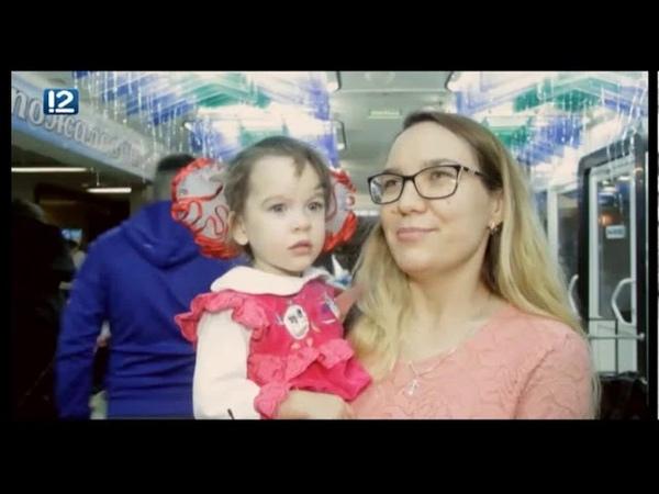 Дед Мороз Справедливоросс 2019 Омск - Час Новостей 12 канал
