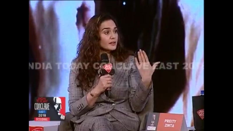 @realpreityzinta recounts a near-death experience that she had when she was holidaying with friends in Phuket in 2004. She was t