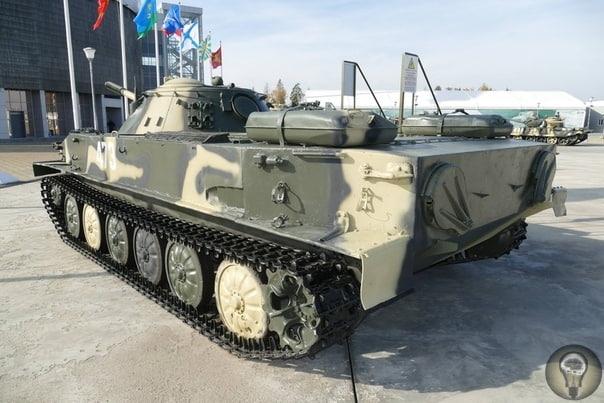 ПТ-76 танк-амфибия Танк-амфибия создан для поддержки мотострелковых подразделений при форсировании водных преград. И более 40 лет успешно применялся в различных уголках мира. Опыт Великой