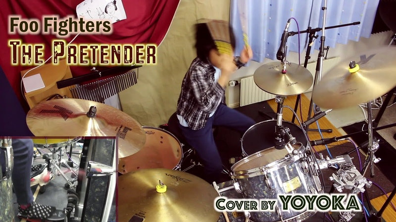 Foo Fighters - The Pretender / Drum Cover by Yoyoka, 9 year old✨Take 1 Version❗️