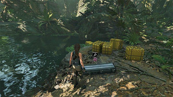 ящик с луком в Shadow of the Tomb Raider