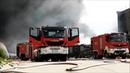 Ogromny pożar składowiska odpadów w Zgierzu 26.05.18 - Akcja gaśnicza i przejazdy wozów bojowych