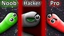 NOOB vs PRO vs HACKER in Slither.io