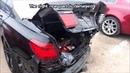 BMW 7 Ремонт кузова Замена задней части машины Body repair The rear part replacement