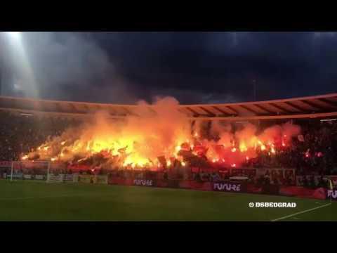 Delije Pyroshow Finale Kupa Srbije Crvena zvezda Partizan 0 1