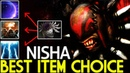 Nisha [Bloodseeker] Best item choice First Blade Mai 7.19 Dota 2