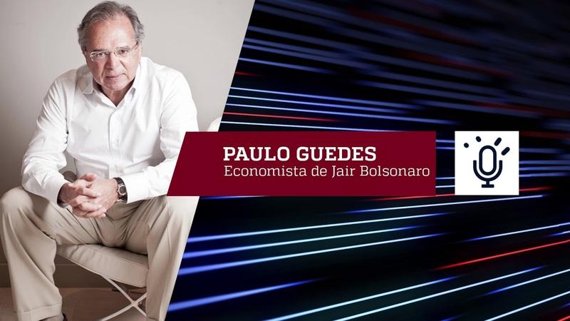 "Felipe Moura Brasil entrevista Paulo Guedes: ""Ninguém vai recuar"""
