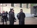 Беспорядки в Киеве националисты ОУН напали на полицию