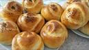 БУЛОЧКИ РОЗОЧКИ с картошкой/Rosette buns with stuffing.