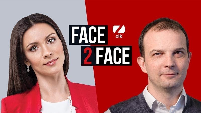 Єгор Соболєв, народний депутат України, у програмі FACE 2 FACE з Тетяною Даниленко