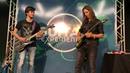 "Playing Hangar 18"" with Kiko Loureiro from Megadeth"
