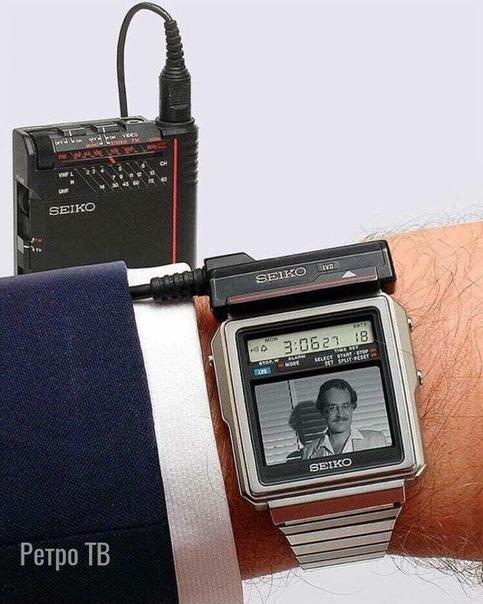 Часы ТВ Seio T001, 1982.