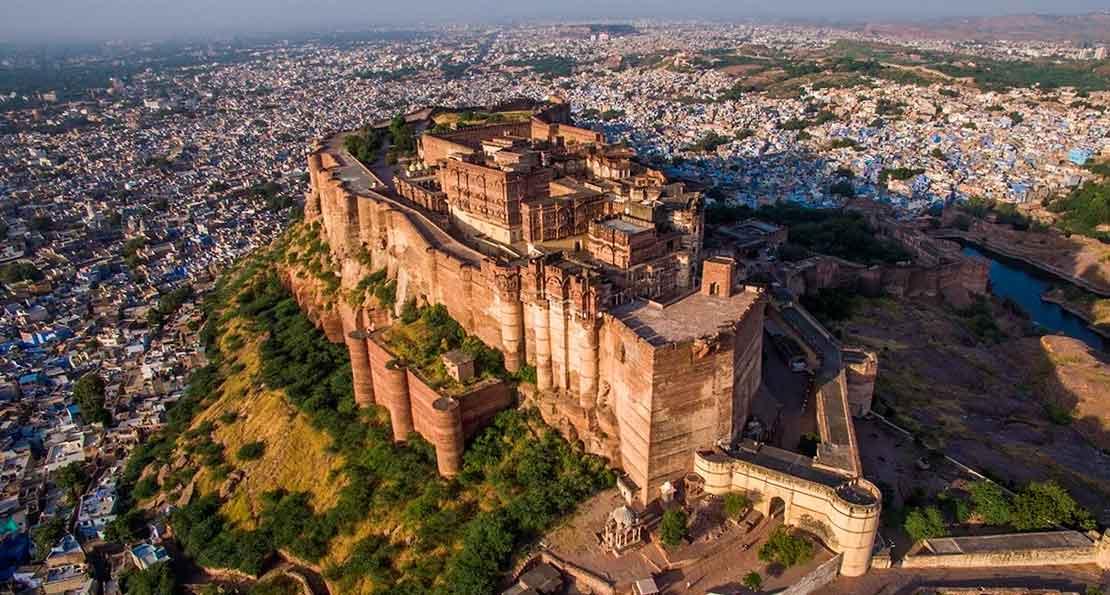 Крепость в Индии