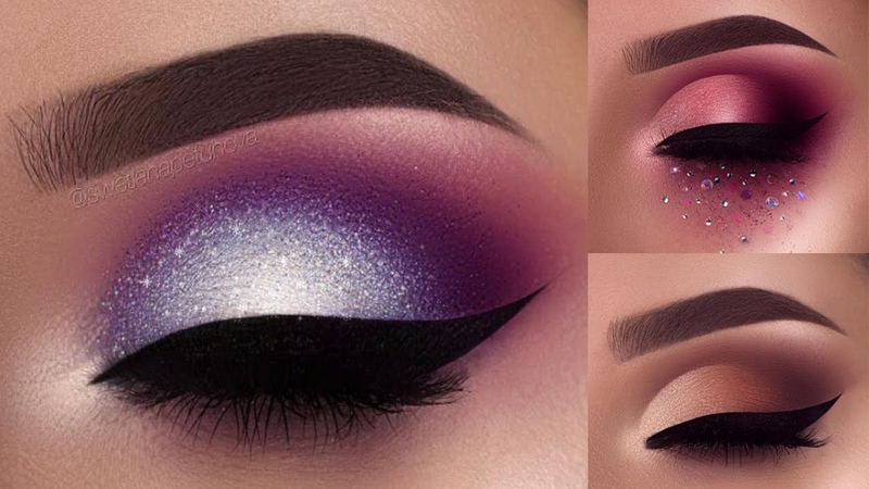 Eye Makeup Tutorial Compilation June 2017 ♥ part 1 ♥