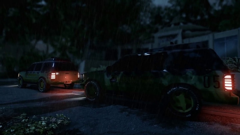 Jurassic Park Cryengine 3 Tech Demo