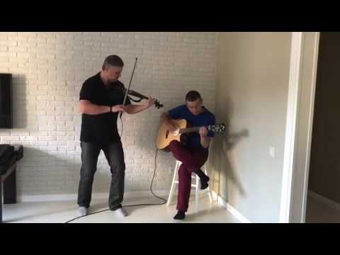 Misirlou - Dick Dale (cover) A.Reutov (violin) , A.Dedyaev (guitar)