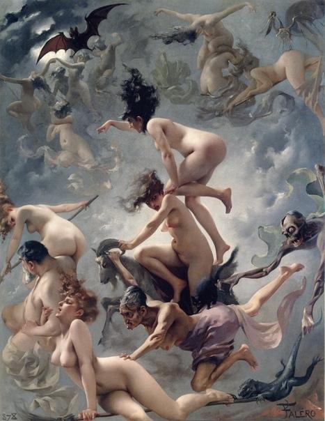 « одного шедевра». «Ведьмы в пути на шабаш», Луис Рикардо Фалеро