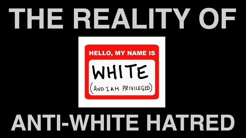The Reality of Anti-White H*tred