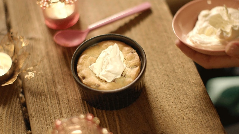 Chocolate chip cookie dough pots recipe - Simply Nigella: Episode 5 - BBC Two
