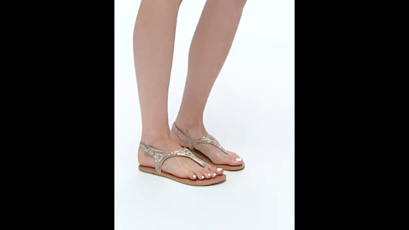 Шикарные бежевые сандалии с бисерной отделкой ASOS New Look