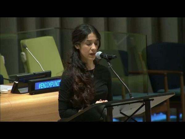 Бывшая пленница ИГИЛ Надия Мурад Баси Таха не понаслышке знает о зверствах террористов