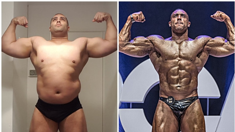 Crazy anabolic steroid transformation