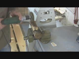 Златая цепь на вазе той. Авторская лирическая работа. Wooden chain