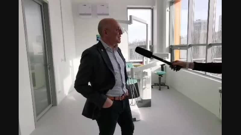 Открытие клиники в Кольцово