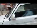 Пьяный мент за рулём в Актобе