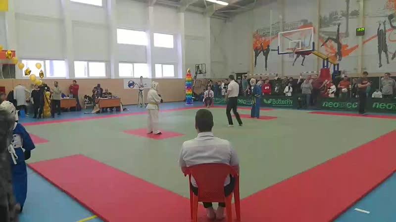 полуфинал Джамолдин синий по Кудо г Углич
