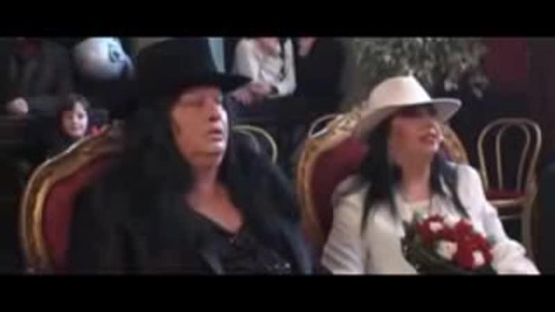 Richard Benson e Ester Esposito sposi infernali 2013