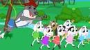 El Lobo y los Siete Cabritos cuentos infantiles para dormir animados