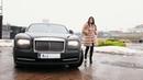 R J Boutique Luxury Fur Coat Brand Rolls Royce Wraith Girl