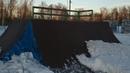 скейтпарк в Щелково под снегом 19 февраля 2019