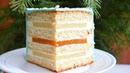 🎄Торт СНЕЖИНКА 🎄Бисквитный торт 🎄Две начинки: АНАНАСОВАЯ и МАНДАРИНОВАЯ 🎄Мармелад 🎄НАМЕЛАКА.