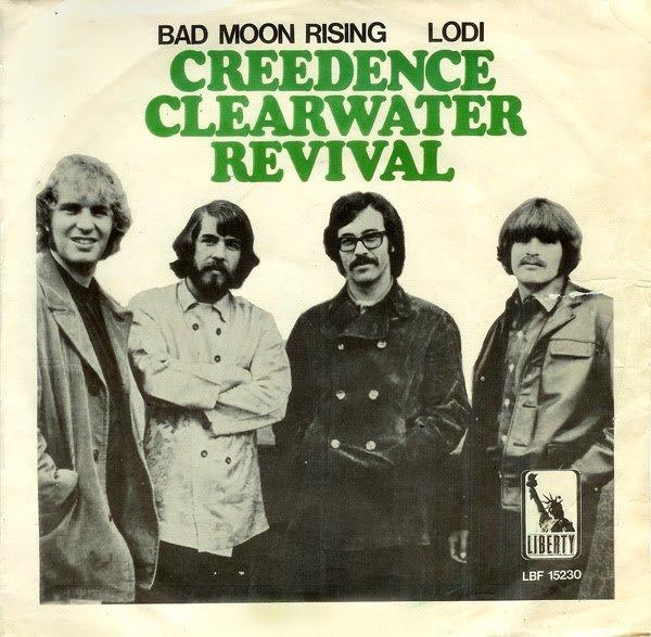 CREEDENCE CLEARWATER REVIVAL - BAD MOON RISING 1968 год подарил фанатам CCR cover-версию сингла Дэйла Хоукинса - Susie Q, которая вскоре стала хитом. Годом позднее группа выпустила сингл Proud