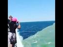 Линия где встречаются Атлантический океан и Тихий океан