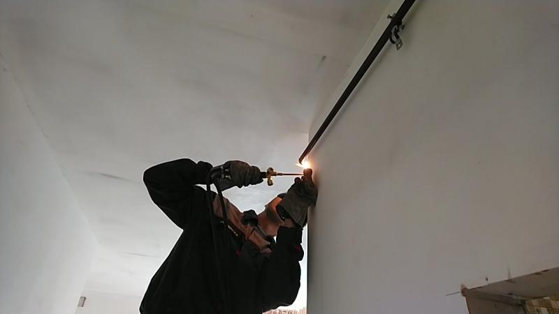 Замена старых газовых труб в квартире СПб.