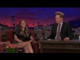 Conan 18.09 Javier Bardem &amp Elizabeth Olsen