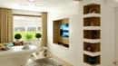 Дизайн интерьера комнаты площадью 22,4 кв м для молодой семьи