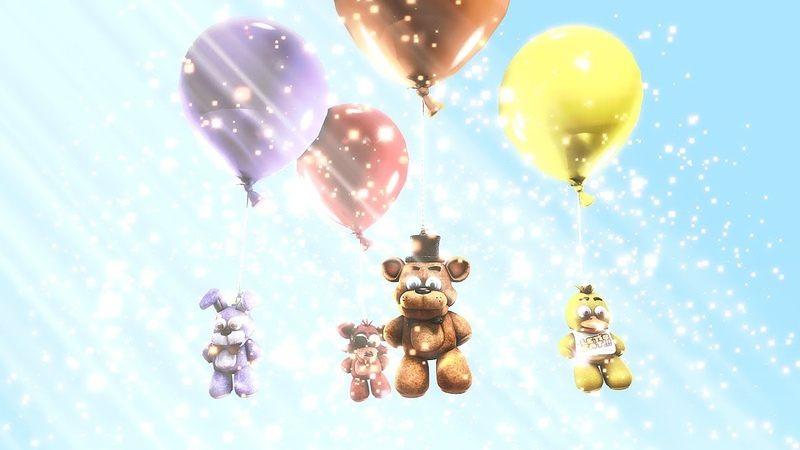 [FNAF SFM] Good Ending Animated (Balloons by MandoPony)100K SPECIAL