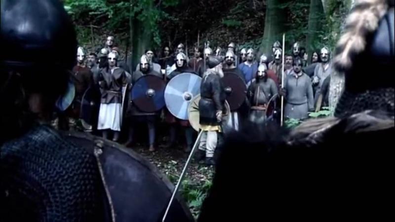 Домовые мужики (хускарлы) против викингов (Битва при Фулфорде 20 сентября 1066) :