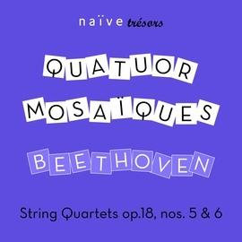Ludwig Van Beethoven альбом Beethoven: String Quartets, Op. 18, No. 5 & No. 6