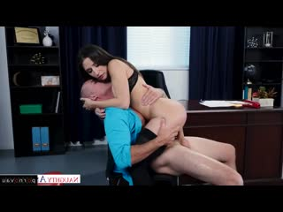 Abella Danger & Sean Lawless [ Cancer &  In the office &  Premium &  With talk / Big ass, On a rider, Beautiful lingerie, Cum