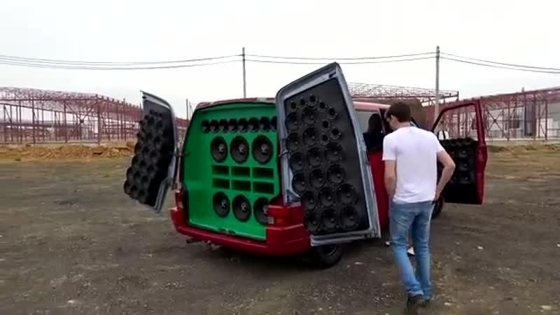 Самый громкий автомобиль Казахстана. VW DEAF BONCE