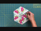 Video tutorial Kaleidoscope quilt - hexagon quilt blocks