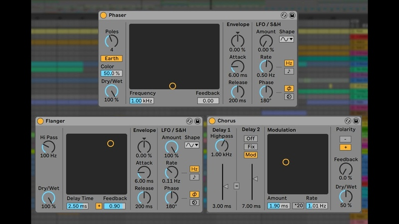 Getting Deep with Flanger, Phaser and Chorus - Ableton Live