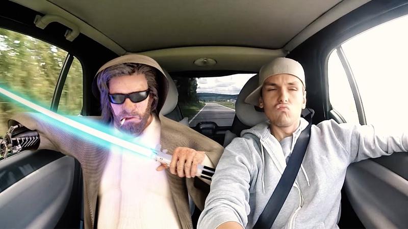 Luke Skywalker Carpool Karaoke |3D Animated