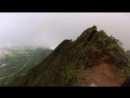 Stairway To Heaven Hike Alternate Route Haiku Stairs Hiking in Oahu Hawaii